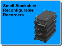 Small Stackable Reconfigurable Recorders